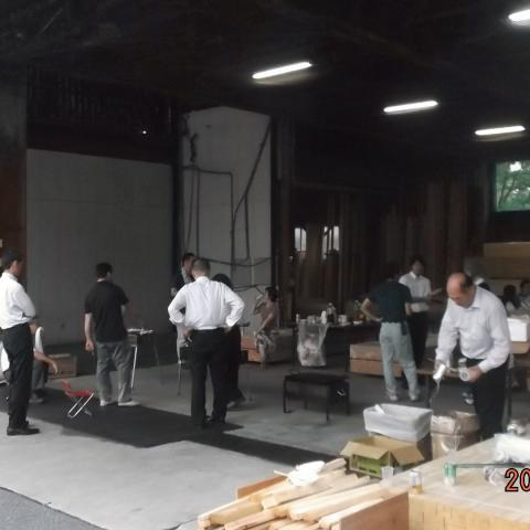 7月19日カーザミカワ社員親睦会バーベキューを開催いたしました。