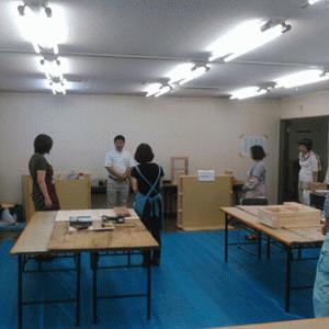 9月12(土)岡崎市街ゼミイベントにてカーザミカワはDIY教室を開催いたしました。