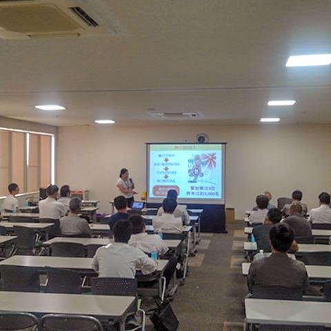 7月20日(金)カーザミカワ建設部安全大会を開催いたしました。