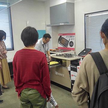 10月19日(土)に、ノーリツ岡崎ショールームさんでイベントを行いました。
